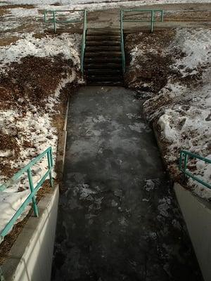 Icy Walkways