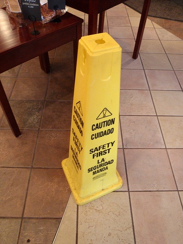 Slip and Fall Cone