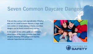 Daycare Center Safety Checklist