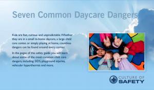 Daycare Center Safety Checklist