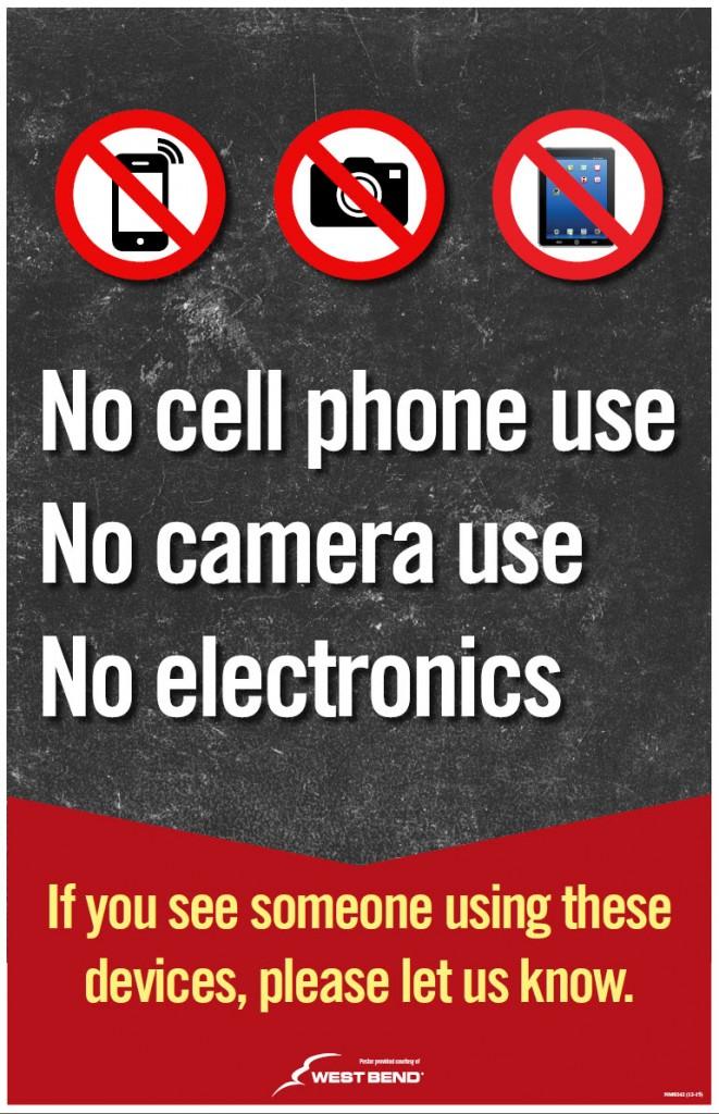 no electronics