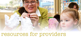Safety Resources for Childcare Providers