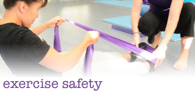 Exercise Safety Tips