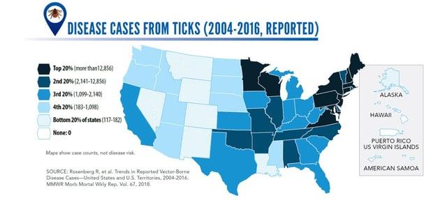 Tick map